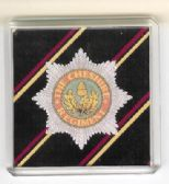 CHESHIRE REGIMENT FRIDGE MAGNET